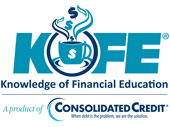 KOFE - Knowledge of Financial Education, a product of Consolidated Credit