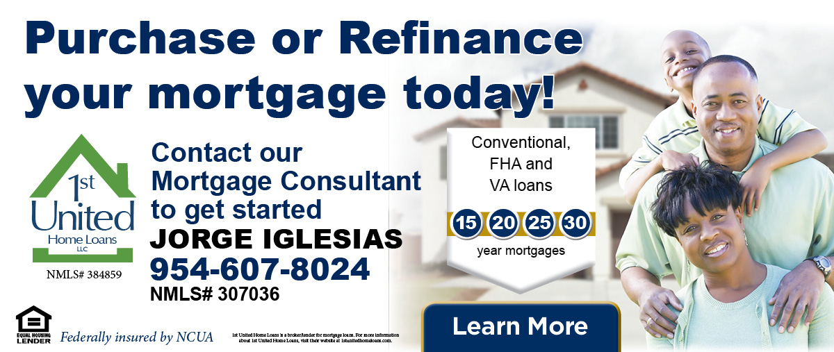Purchase or Refinance your mortgage today with 1st United Home Loans