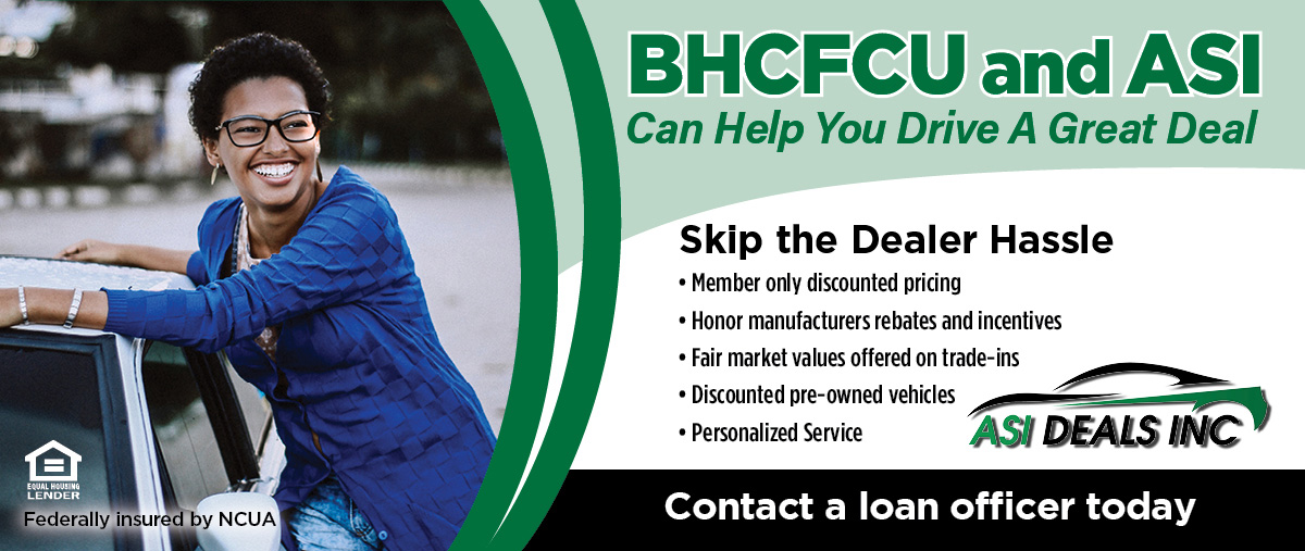 BHCFCU & ASI can help you drive a great deal