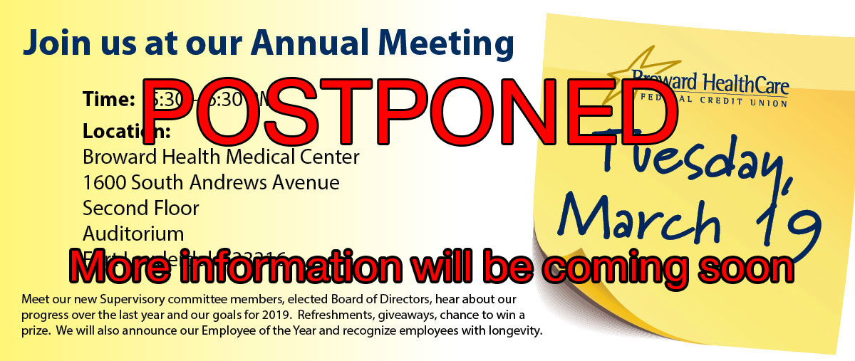 Join us at our annual meeting