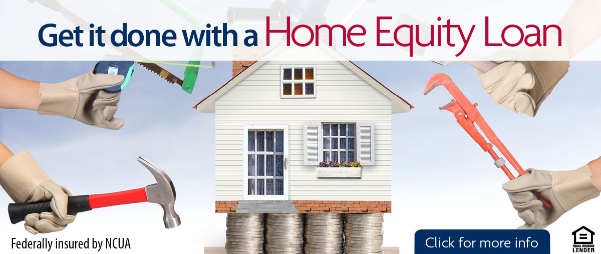 Get it done with a home equity loan