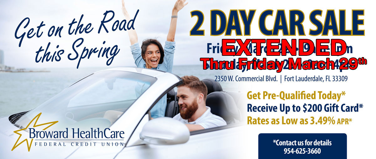 Get on the road this spring with out 2 day car sale