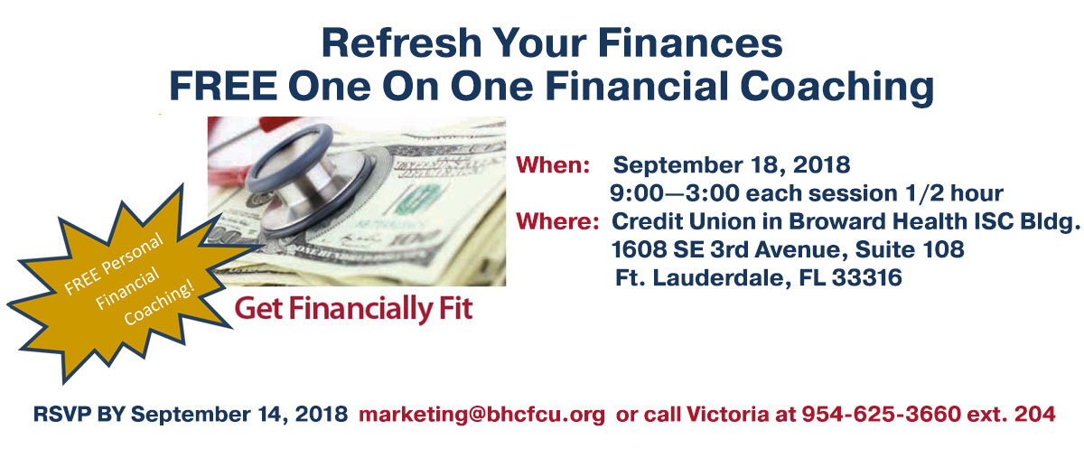 Refresh Your Finances with free One On One Financial Coaching